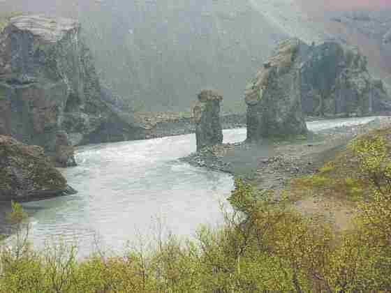 Река в стране Исландия