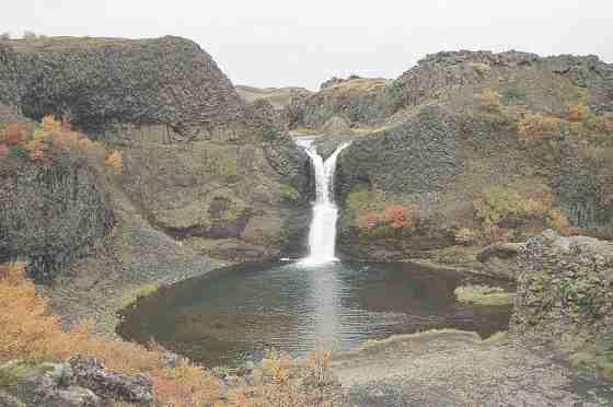 Исландия. Водопад