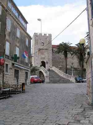 Старая часть города Корчула