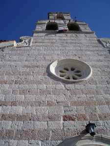 Башня в городе Будва