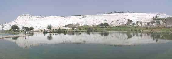 Панорама горы Памуккале