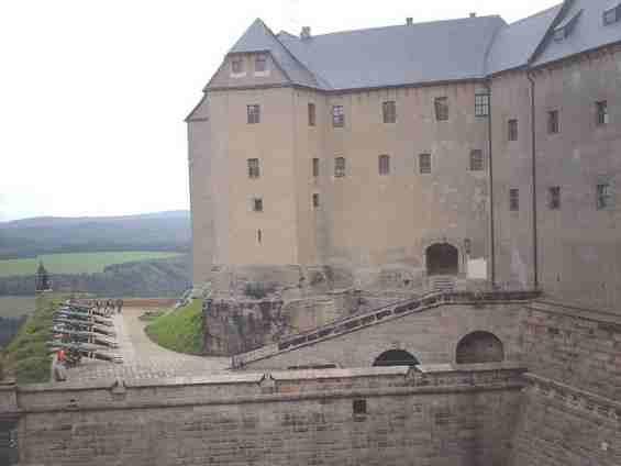 Германия. Крепость Кёнигштайн
