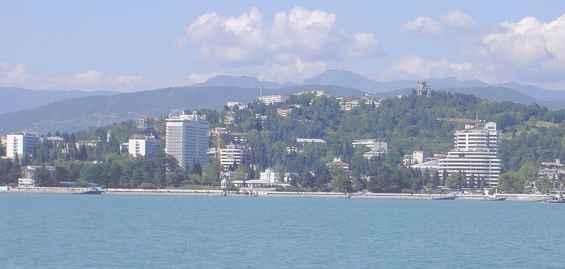 Курорт Сочи. Черноморское побережье