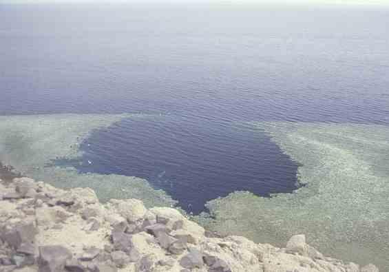 Голубая дыра в Красном море