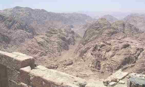 Египет. Синайские горы