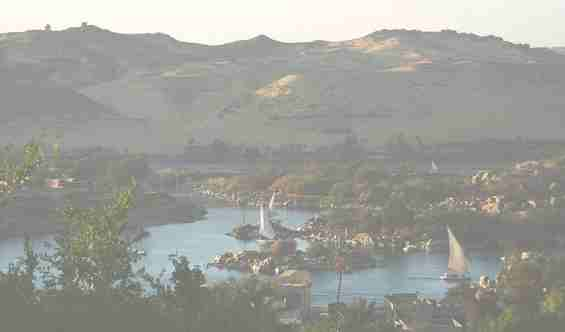 Арабские судна на реке Нил