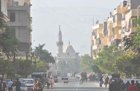 Город Луксор. Мечеть