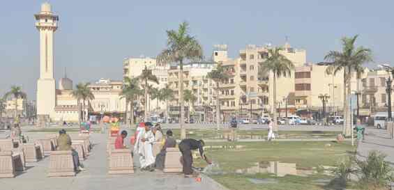 Современный район города Луксор