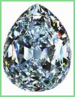 Один из великолепных бриллиантов полученных из алмаза Куллинан