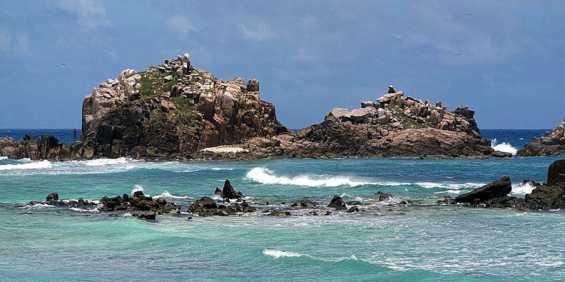 Сейшельские острова. Впечатляющие скалы