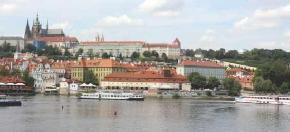Старинный город Прага. Панорама