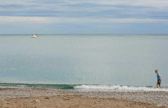 Курорт Алушта. Живописное побережье