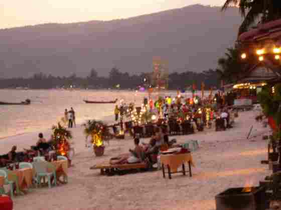 Самуи. Пляж Чавенг