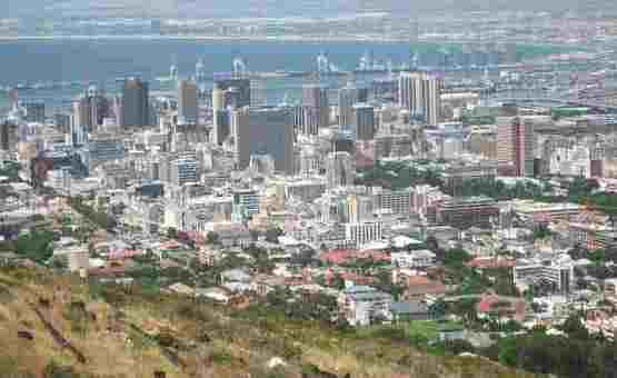 Южноафриканский город Кейптаун