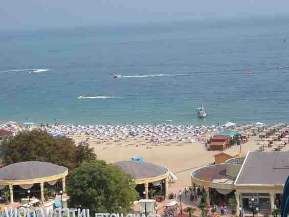 Болгария. Золотые пески. Пляж