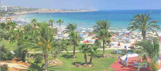 Кипр. Айя-Напа. Пляж