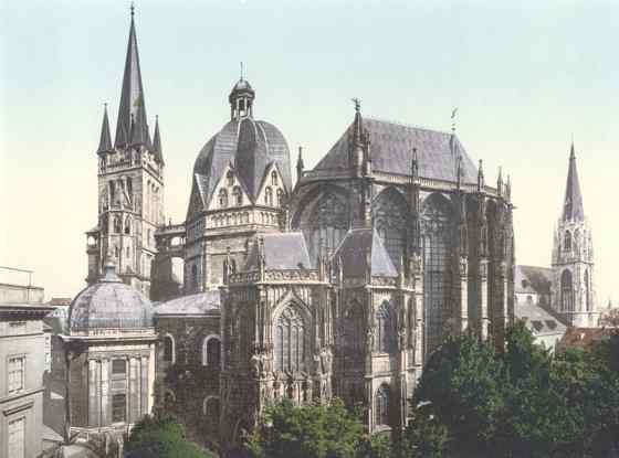 Кафедральный собор в городе Ахен