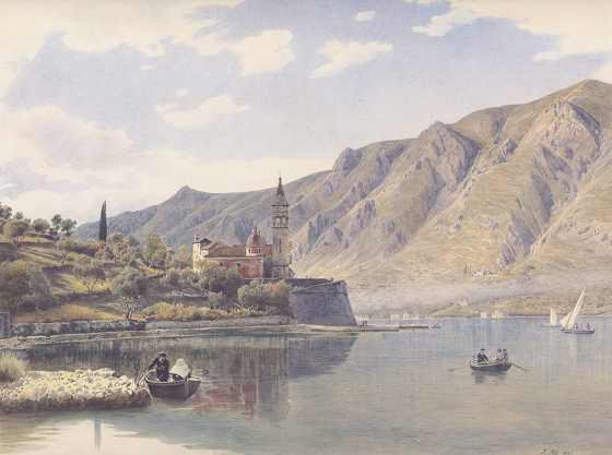 Котор. 1841 год