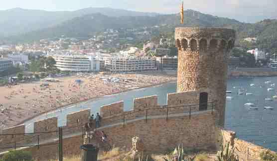 Средневековая башня г. Тоса де Мар