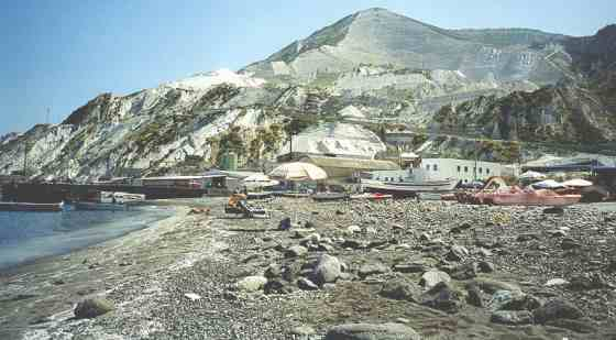 Побережье острова Липари