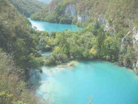 Красивейшие Плитвицкие озёра