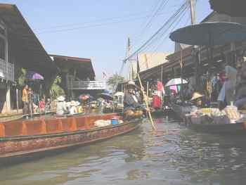 Каналы столицы Таиланда Бангкок