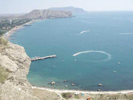 Крым. Судакская бухта