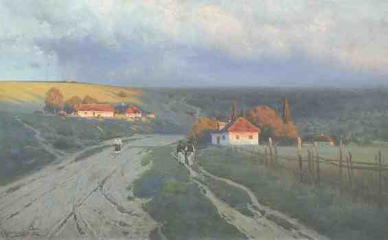 Украина. 1901 год. Хутор