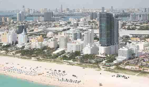Городской пляж Майами