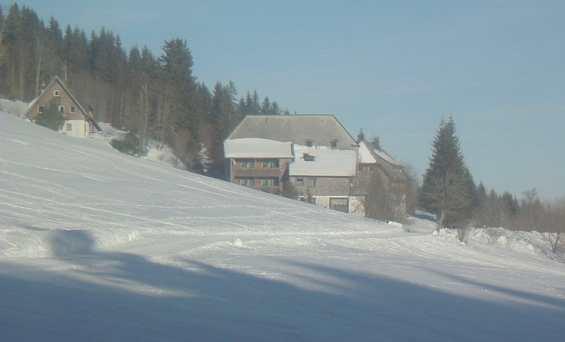 Шварцвальд зимой. Германия
