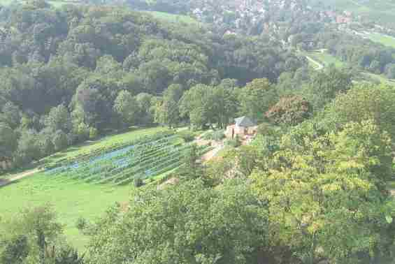 Курортный парк в земле Баден-Вюртемберг