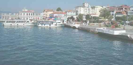 Стамбул. Порт на острове Бююкада