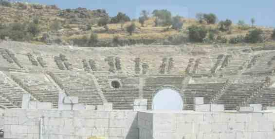 Бодрум. Развалины античного театра