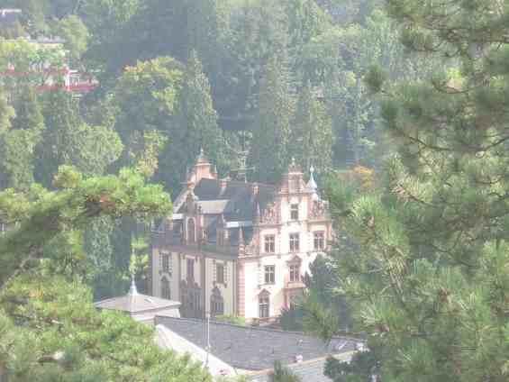Удивительной красоты курорт Баденвайлер