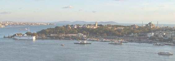 Стамбул. Панорама залива Золотой Рог
