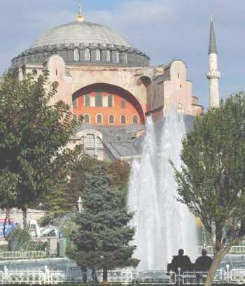 Стамбул. Знаменитый Музей Св. Софии