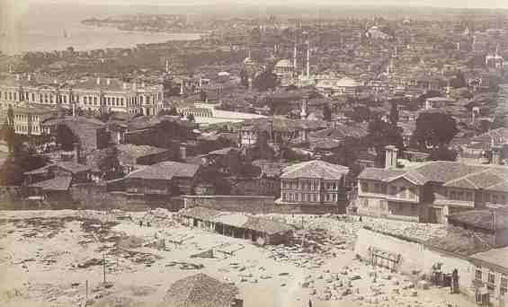 Город Стамбул. Конец XIX века