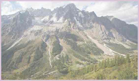Горы в стране Италия