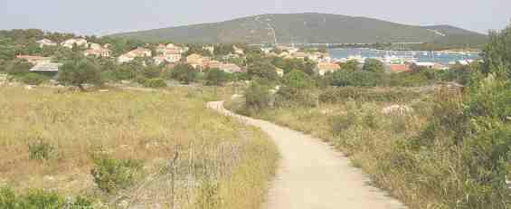 Деревня на Адриатическом побережье в Хорватии