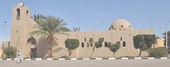 Мечеть в городе Луксор