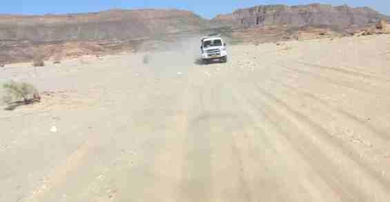 Поездка на внедорожнике по Синайской пустыне