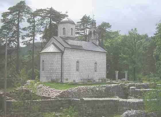 Столица Цетине. Церковь