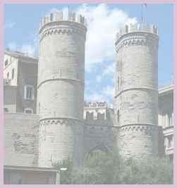 Государство Италия. Генуя. Средневековые ворота