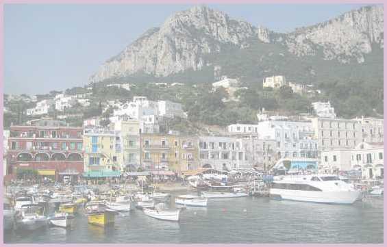 Государство Италия. Побережье острова Капри