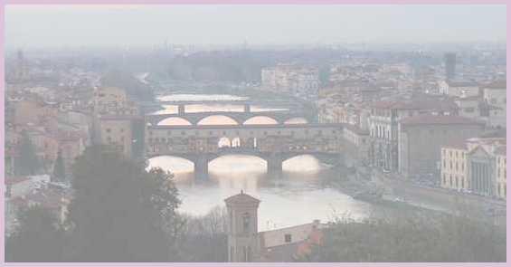 Государство Италия. Город Флоренция. Старинный мост