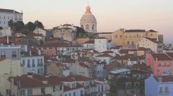 Жилые дома в городе Лиссабон