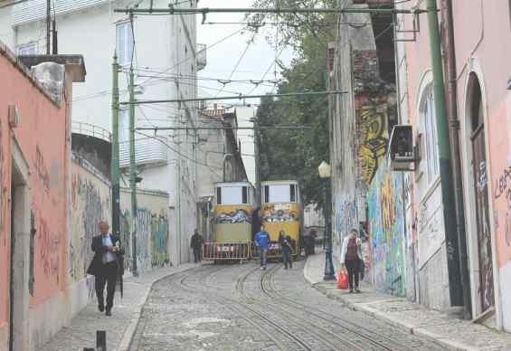 Улица города Лиссабон