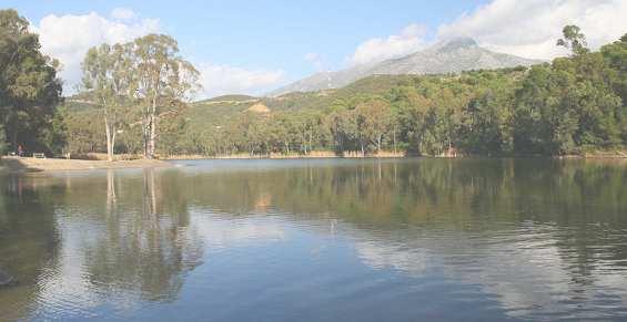 Достопримечательность Марбельи -- озеро