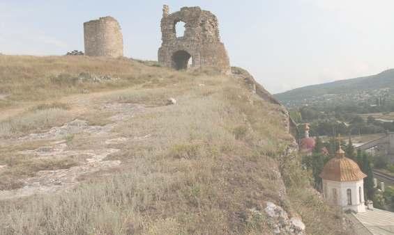 Крепость Инкерман (Каламита) --достопримечательность Инкермана