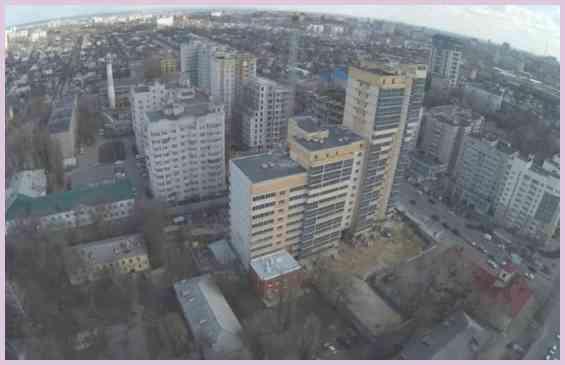 Воронеж Северный микрорайон вид сверху